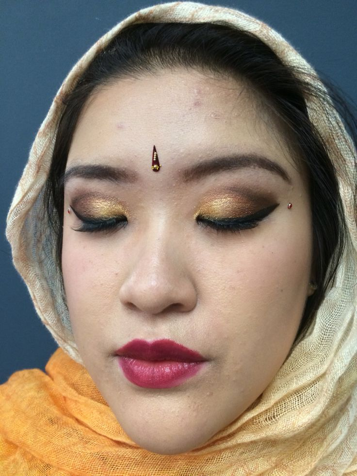 Indian wedding make up 2 Follow me on these websites for more  Instagram artist2222 Deviantart lunamoon22  Ifunny karkar2222