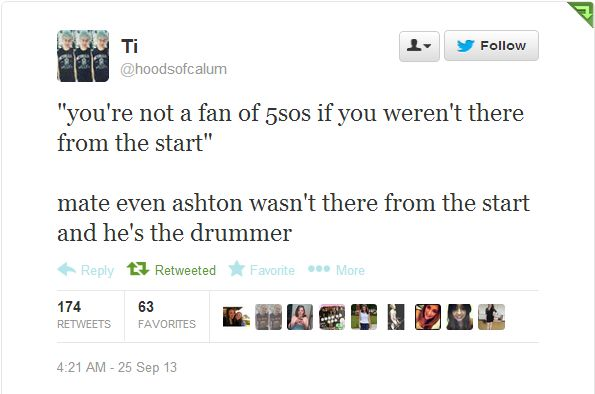I just find this funny lol and true respect the band and its members and support them through everything and you are just a big of fan:-) <<<< So glad someone made this. I became a fan the summer of 2015 (and btw it all happened in 5 seconds hehe) and I see all these hateful pins about new fans and I feel so sad<<same here