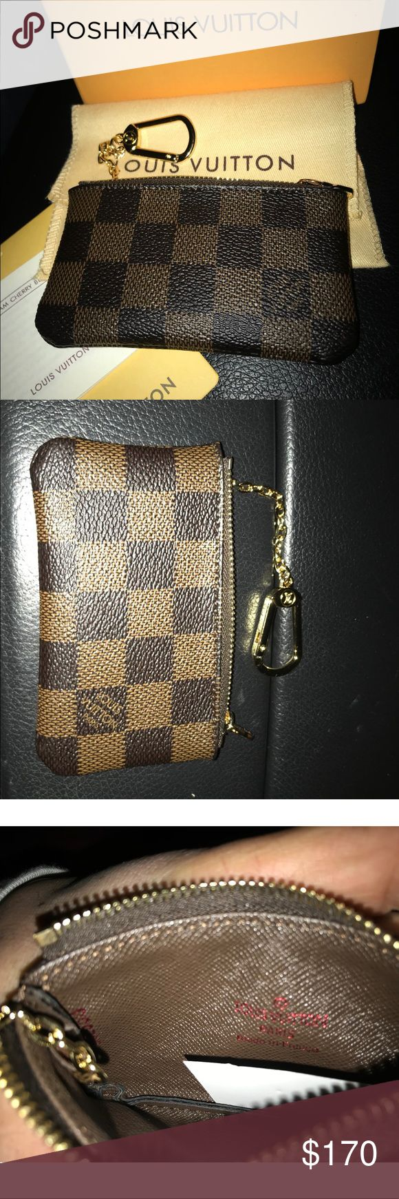 Louise Vuitton wallet Louise Vuitton monogram wallet, comes with box, dust bag, and monogram tag. Please don't ask for trades, no low balling. Happy poshing! Louis Vuitton Bags Wallets