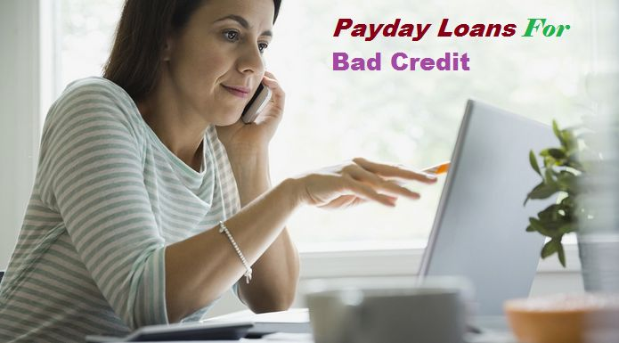 Payday loans for bad credit are arranging quick cash support to the individuals once they are in urgent want. It doesn't matter if you've got a foul or smart monetary solution. Every cash crisis gets these financial services like home enhancements, surprising bills and repairs of cars.