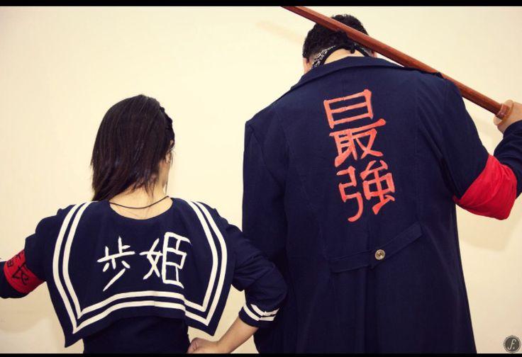 """ayunite.tumblr.com : """"Sukeban inspired ~ yankee/bosozoku ..."""