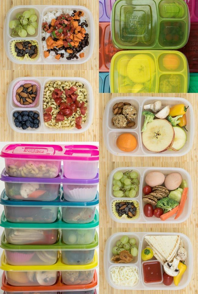 12 Healthy Lunch Box Ideas for Kids or Adults that are simple, wholesome, and meatless – no sandwiches included. #easylunchboxes #lunch #wholefood #lunchideas #healthy