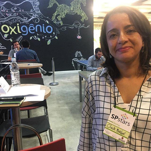 @click.baba hoje na SPSTARTS com nossa CEO &a Fundadora @apereira.luciana !!! 😍#clickbaba #empreendedorismo #mulher