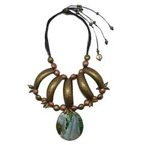 Tierra. Ethnic collection. Necklace