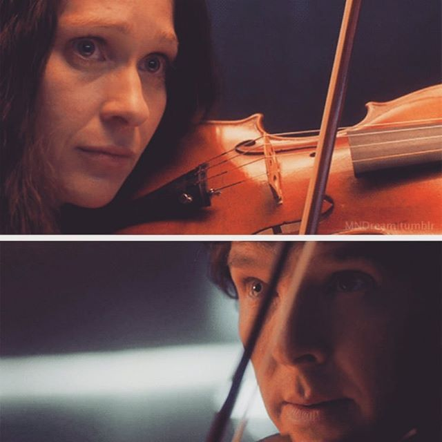 Sherlock and Eurus played violin together is one of my favourite things ever. So beautiful.