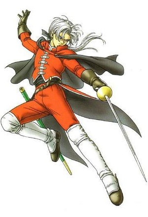 Angelo from Dragon Quest VIII