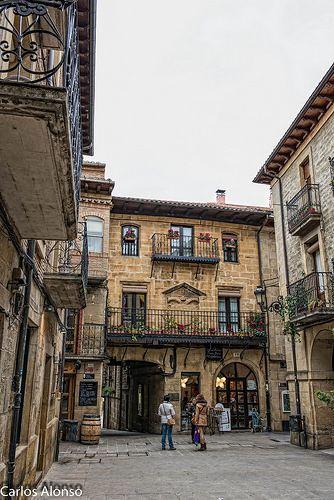 Callejeando por Laguardia, Rioja- Alavesa. Spain
