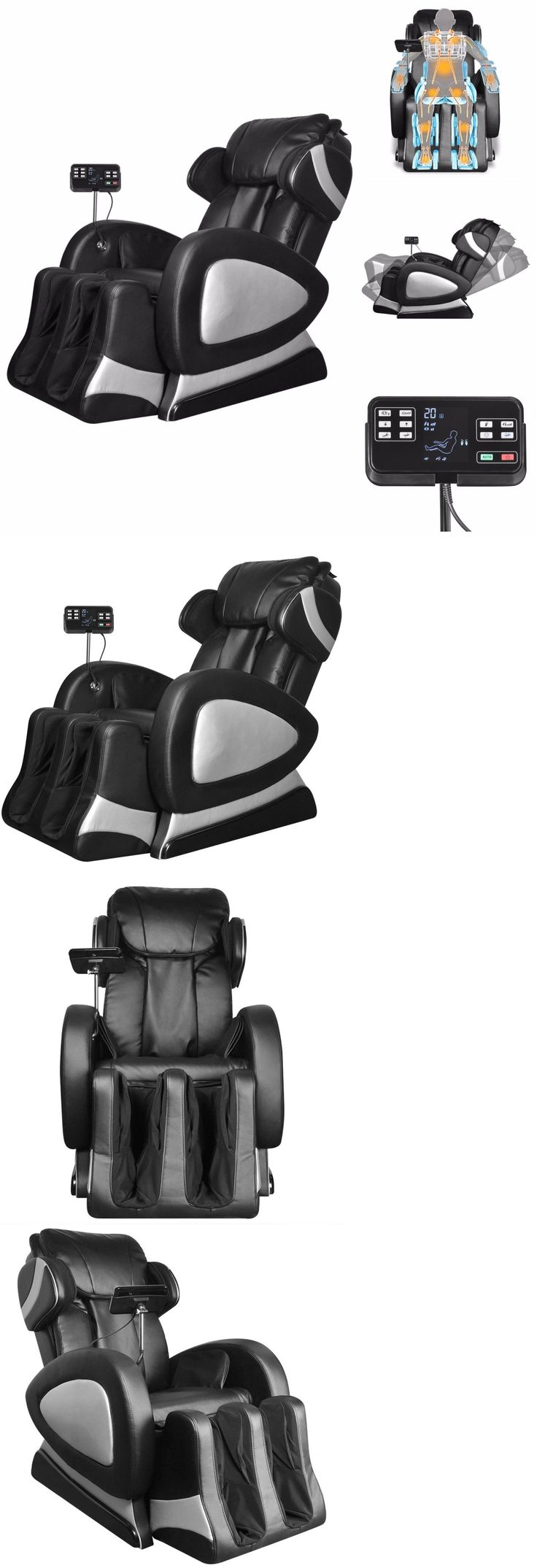 Electric Massage Chairs: Full Body Shiatsu Massage Chair Back Pain Therapy Zero Gravity Stretched Relax BUY IT NOW ONLY: $829.99