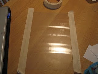 making your own carrier sheets for the silhouette from laminating sheets