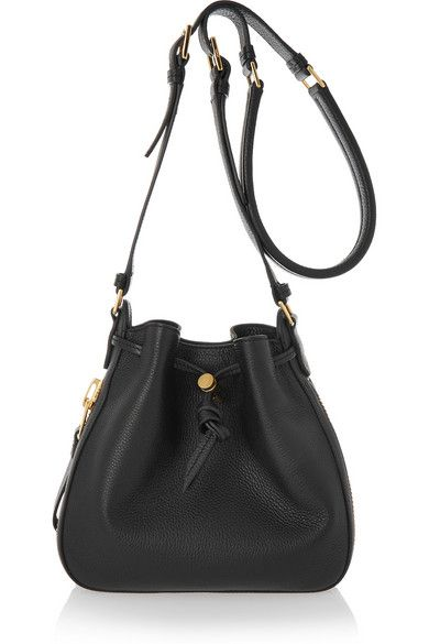 Tom Ford | Sedgwick small textured-leather shoulder bag | NET-A-PORTER.COM