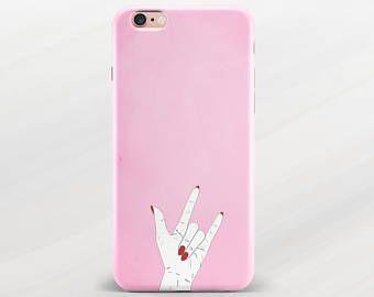 Rock iPhone 6 Case Pink iPhone 7 Case iPhone 7 Plus Case iPhone 6s ...