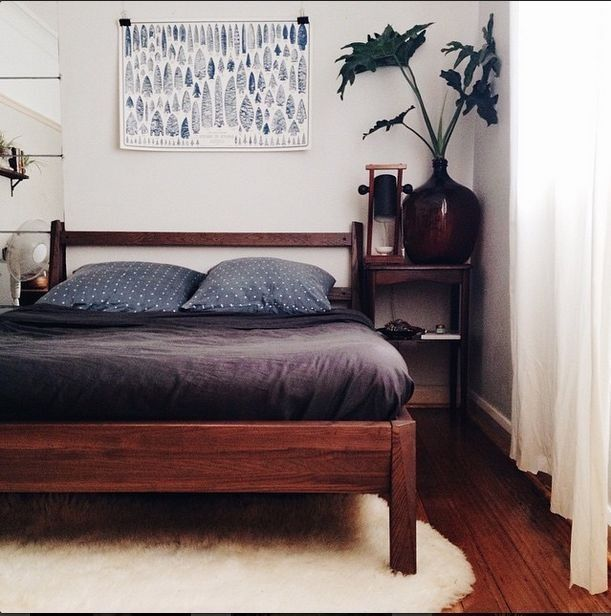 The Discontinued Stockholm Bed Frame From Ikea Rrp 600 00