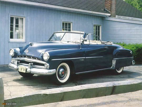 1951 Dodge Wayfarer Roadster