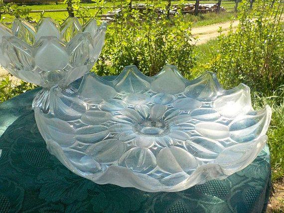 Altes Glas aus Tschechien Hermanova Hut frueher Hermannshuette