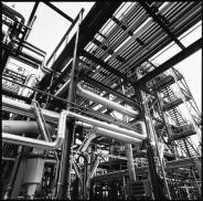 Fotografie documentarie della costruzione di un impianto Viscolube a Pieve Fissiraga – Matteo Cirenei