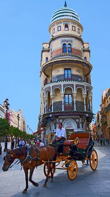 Sevilla, Spain.   I think I took a photo of this building too.