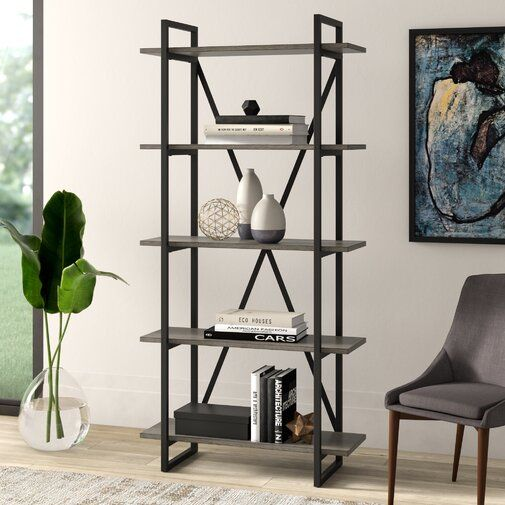 Keeble Metal Etagere Bookcase Etagere Bookcase Bookcase