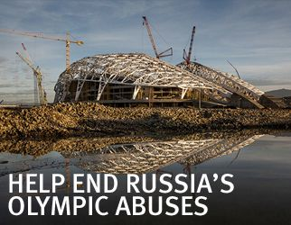 Russia: Silencing Activists, Journalists ahead of Sochi Games | Human Rights Watch