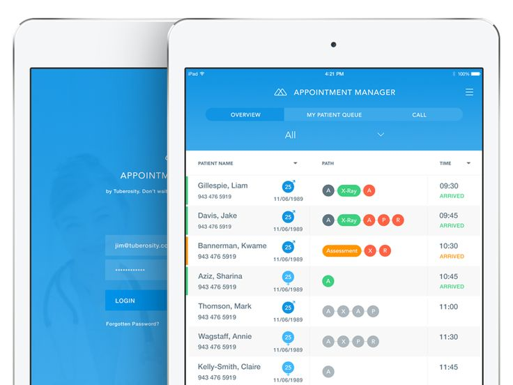 Patient Management App by Liam Gillespie