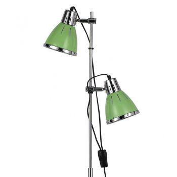 Lampadar ELVIS PT2 VERDE - un model de lampadar modern, ideal pentru orice camera decorata in stil minimalist #DecoStores #iluminat #amenajariinterioare #interiordesign #corpiluminat #floorlamps #modernfloorlamps #lampadare