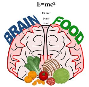 List of Foods that Help Brain Development and Repair Damage: antioxidants, omega-3