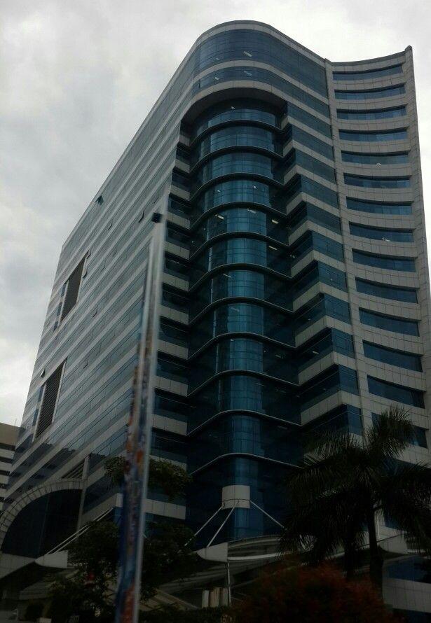Dikti Building,  Kemendikbud,  Senayan, Jakarta ~ Photo taken by Meidari Nawawi, 26 June 2014.
