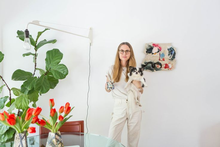 The jewelry designer, sculptor and owner of Dream Collective takes T on a tour of her midcentury home.