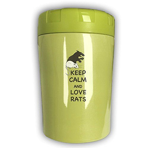 Stainless Stew Pot Keep Calm And Love Rats Stainless Steel Stock Pot Multifunctional Stew Kettle Versatile Stew Pot