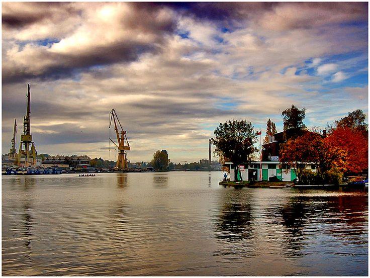 #Szczecin, #Odra River #Zachodniopomorskie