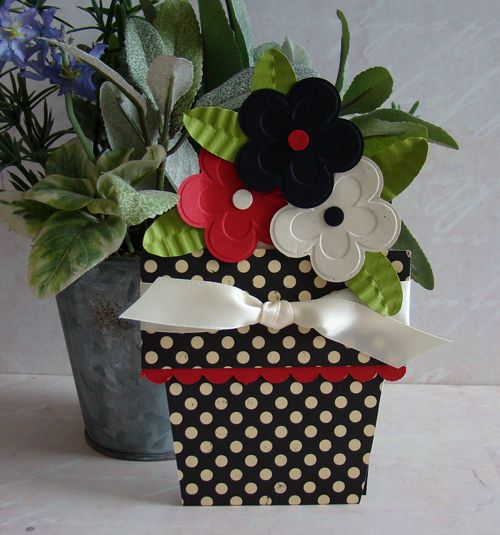 Flower Pot Card tutorial