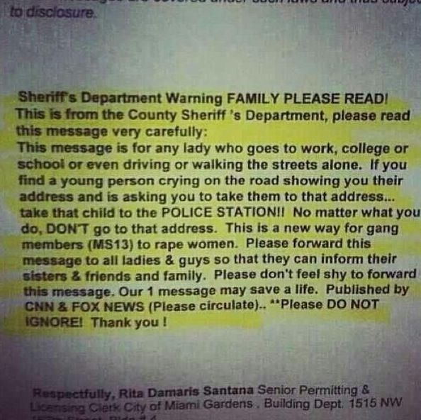 Everyone please read and repin. it's not a chain post or anything it could save someone's life.