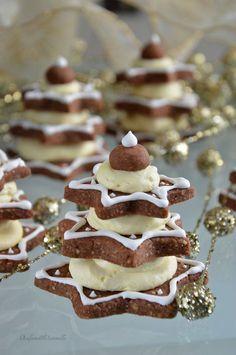 Alberelli di cioccolato con crema al mascarpone
