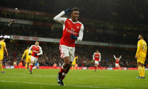 I love playing in the number 10 position claims Alex Iwobi