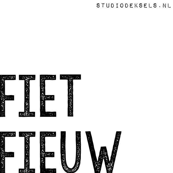 Fiet Fieuw - Studio Deksels