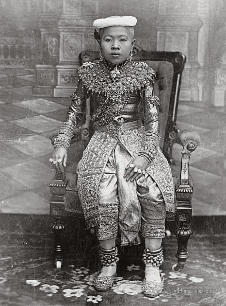 The Crown Prince of Thailand, 1890-1910 - info about Thailand and Koh Samui: http://islandinfokohsamui.com/