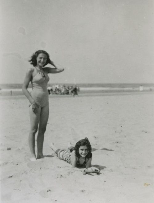 Anne and Margot Frank.  These are the people that the Third Reich considered enemies of mankind.  In consequence, they stole the lives of millions of innocent, blameless people.