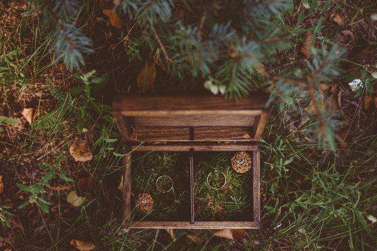 Pudełko na obrączki || Rings box