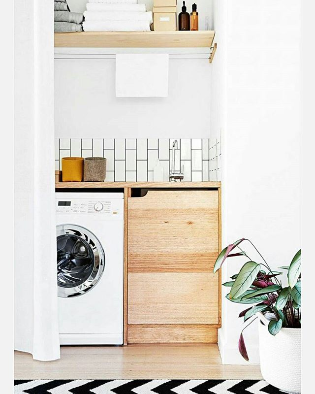 A little laundry inspiration to start the day Image: @insideoutmag #oohm…
