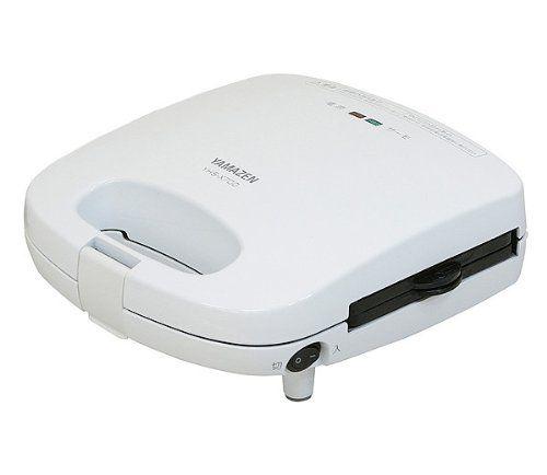 山善(YAMAZEN) ホットサンドメーカー(たい焼きプレート付) YHS-X700(W): ホーム&キッチン