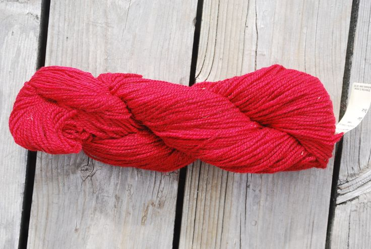 Maple Leaf Red 2 Ply Cottage Craft 100% Wool