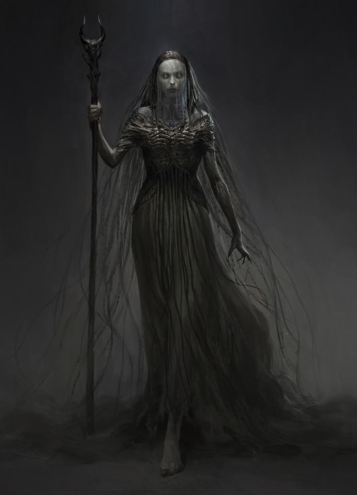 ArtStation - witch, qingkai yang