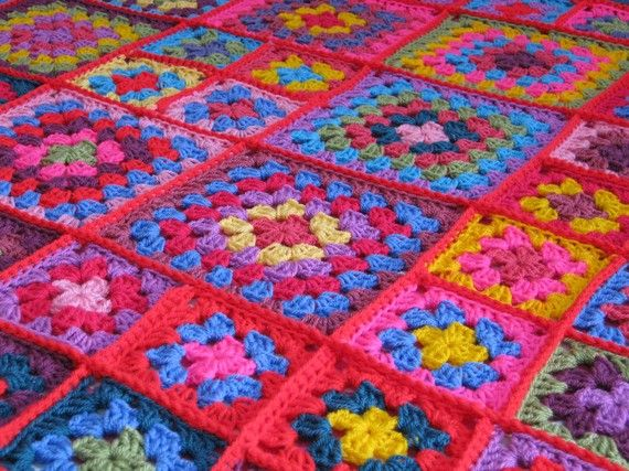 Crochet Pattern Dolly Granny Square Crochet by Thesunroomuk