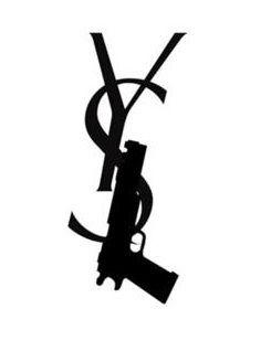 83 Best Yves Saint Laurent Logo Images On Pinterest