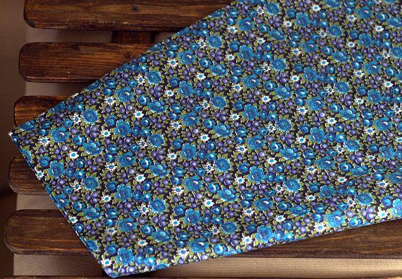Exclusive Vintage Fabric USSR Fabric Vintage Cotton Flowers