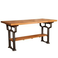 Antique and Vintage Industrial Work Tables at 1stdibs - Page 6