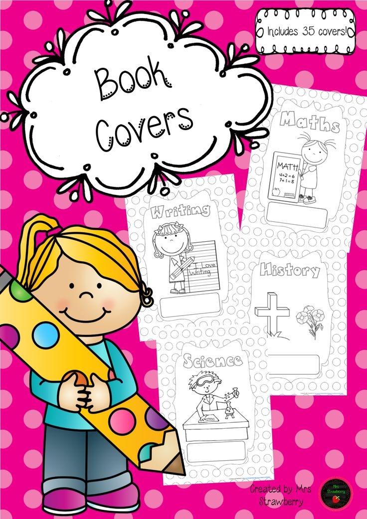 Homework Book Cover Template ~ Images about book labels on pinterest free