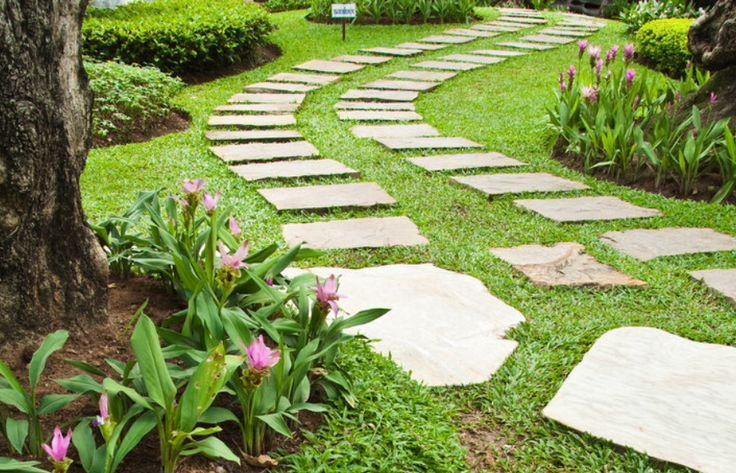 Oltre 25 fantastiche idee su pietre da giardino su - Camminamento pietra giardino ...