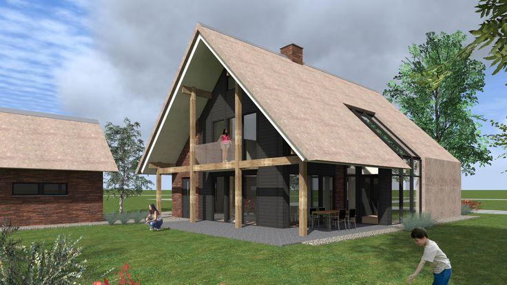 Hedendaagse woning ontwerp door Bongers Architecten BNA