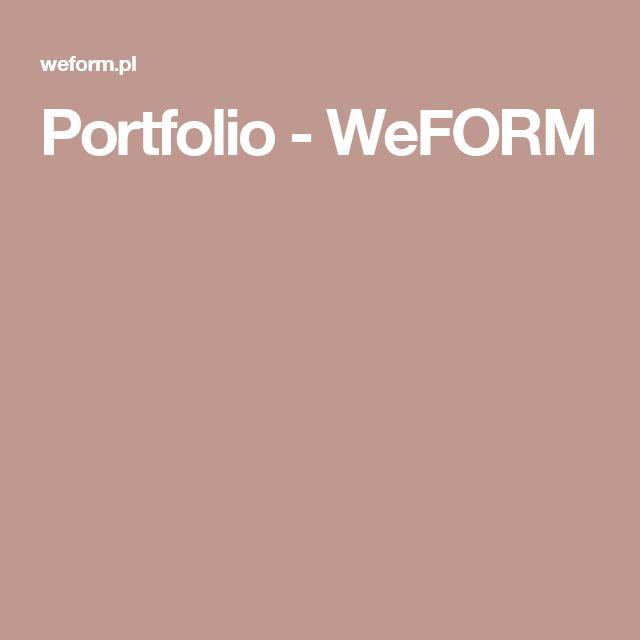 Portfolio - WeFORM