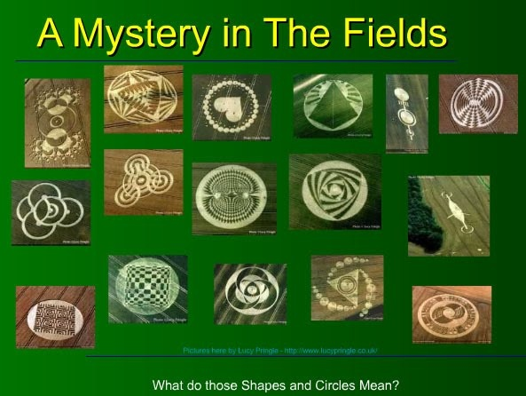 Crop Circles : A Mystery in the Fields by Andrew Johnson - Psychedelic